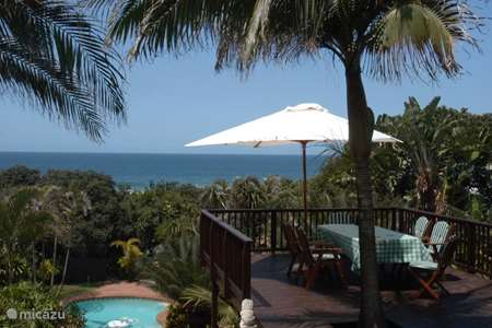 Vacation rental South Africa – bungalow Thatch by the Sea