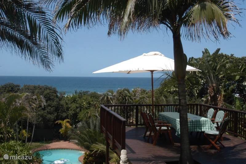 Vakantiehuis Zuid-Afrika, KwaZulu-Natal, Ballito Bungalow Thatch by the Sea