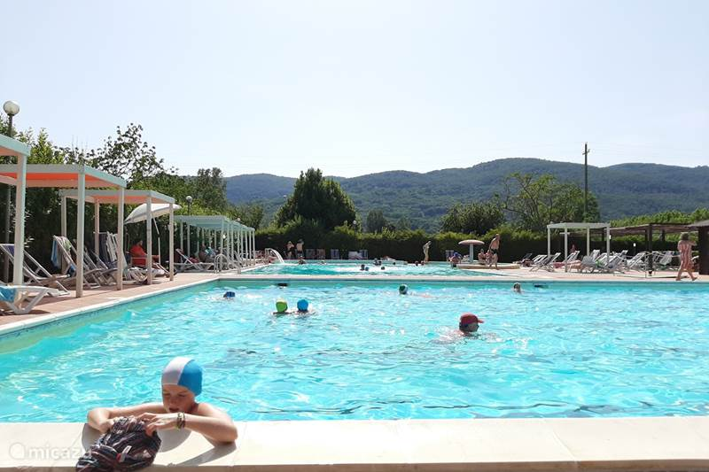 Vakantiehuis Italië, Ligurië, Ameglia Stacaravan 212 Camping River, Toscane - Ligurie