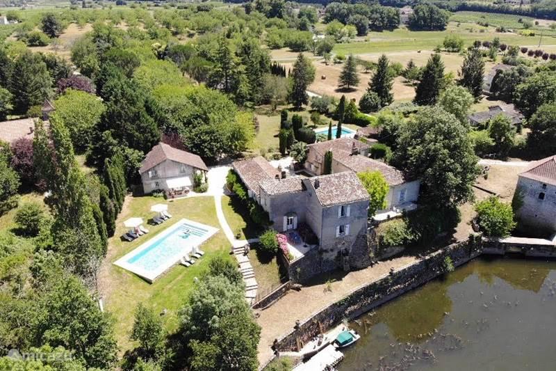 Vakantiehuis Frankrijk, Lot, Vire-sur-Lot Gîte / Cottage La Croze - Gite Monet