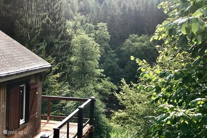 Vakantiehuis België, Ardennen, Chiny Chalet Chalet aan de rivier