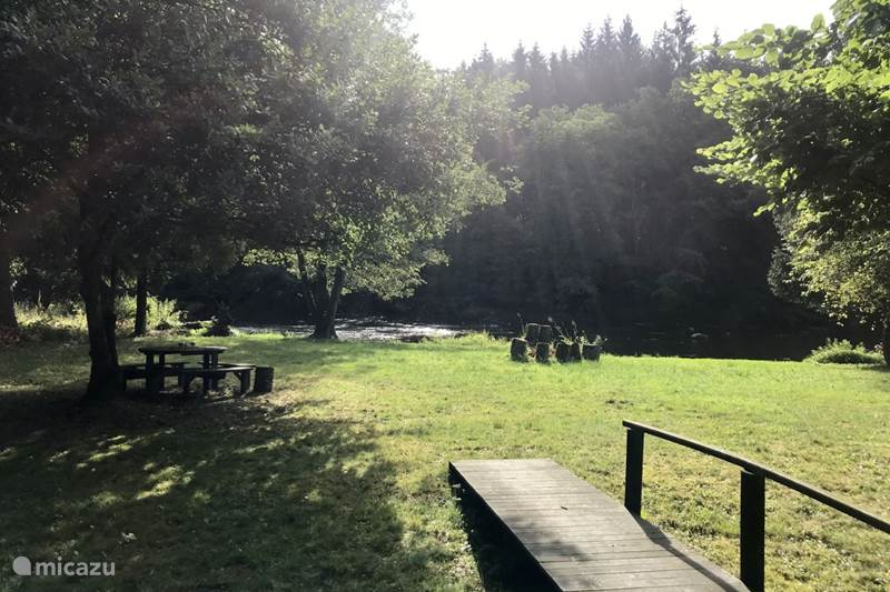 Vacation rental Belgium, Ardennes, Chiny Chalet Chalet by the river