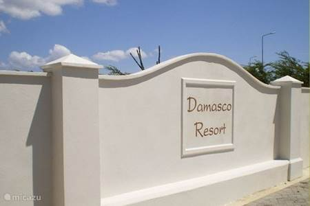 Damasco Resort entrance