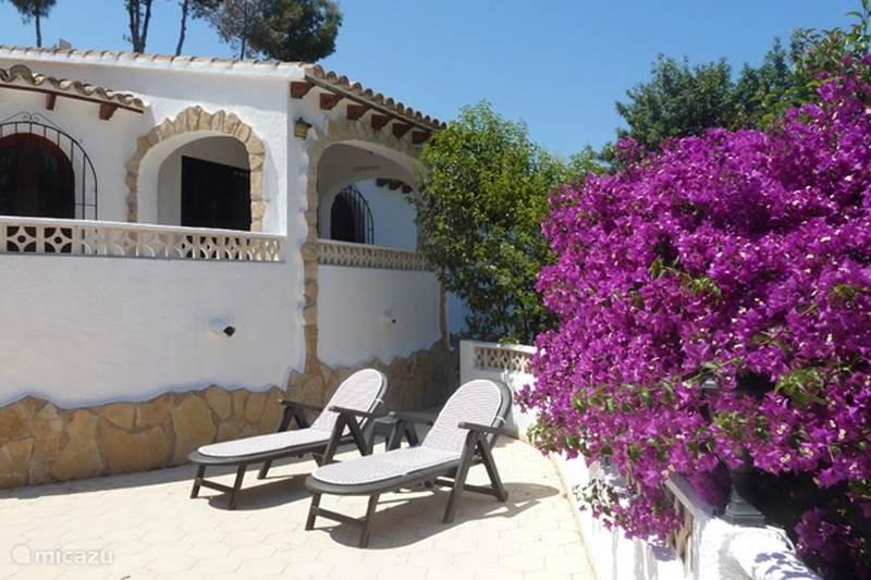 Vakantiehuis Spanje, Costa Blanca, Benissa Vakantiehuis Casa Frayola
