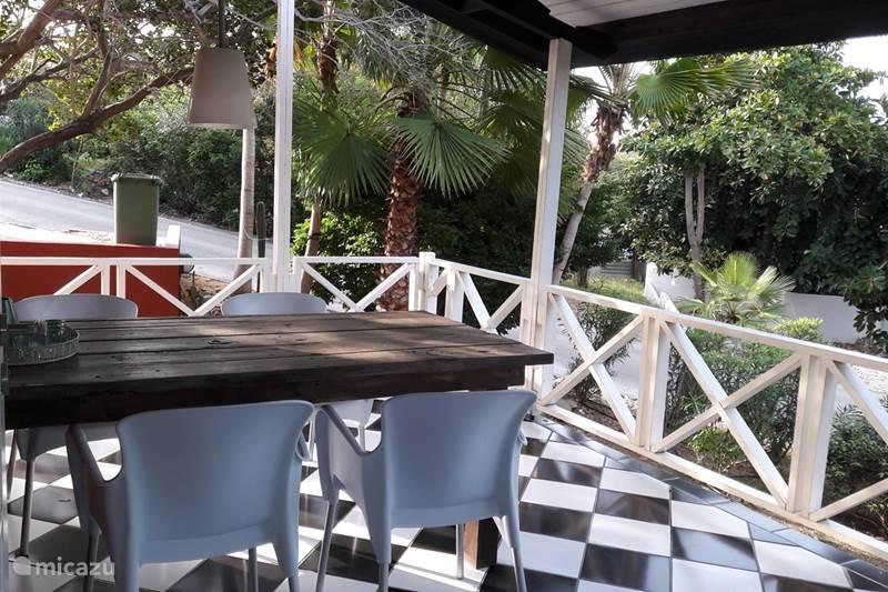 Vakantiehuis Curaçao, Curacao-Midden, Piscadera Bungalow Tropische Resort Bungalow 61