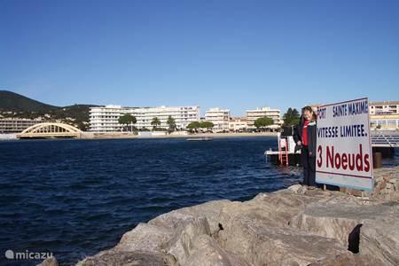 De haven van Sainte Maxime