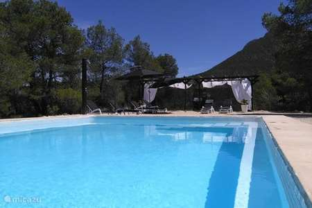 Vakantiehuis Spanje, Andalusië, Vélez-Blanco bed & breakfast  B&B Cortijo-Blanco app. La Montaña