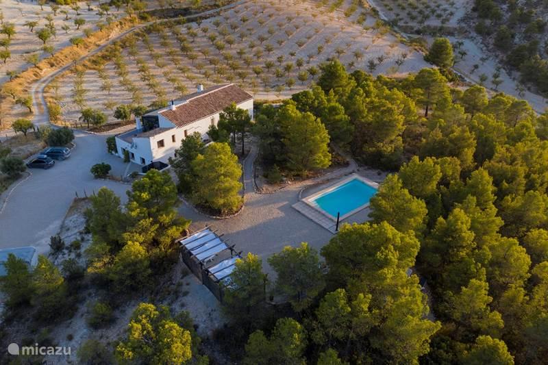 Vakantiehuis Spanje, Andalusië, Vélez-Blanco Appartement  B&B Cortijo-Blanco app. La Montaña