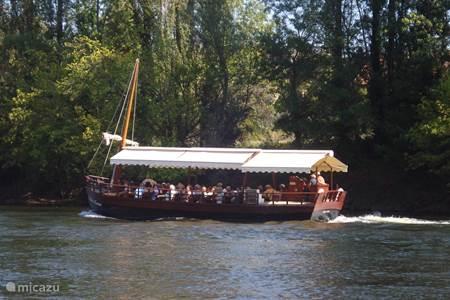 Rondvaart op de Dordogne