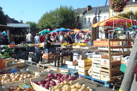 Nice market Gourdon
