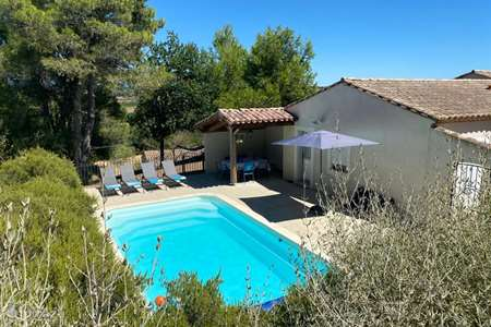 Vacation rental France, Aude, Bouilhonnac holiday house Hieros Naouto