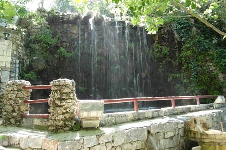 de watervallen van Argyroupoli,