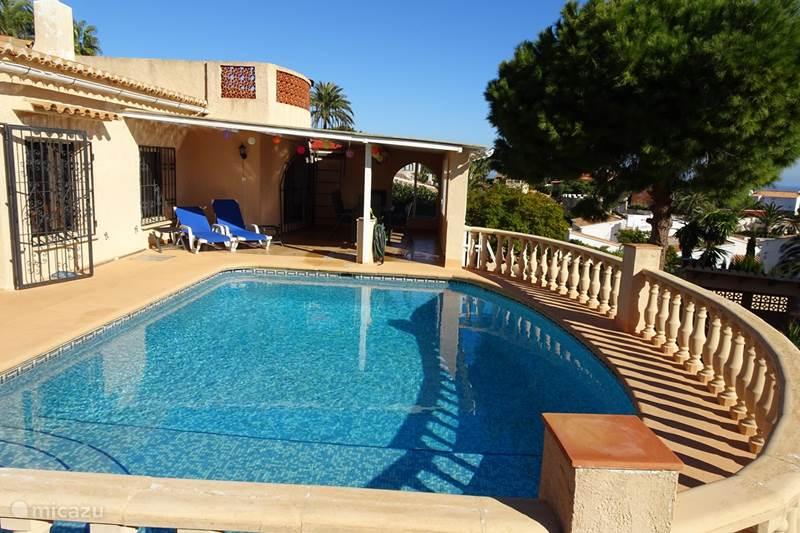 Vakantiehuis Spanje, Costa Blanca, Javea Villa Vista Solvarez met PERFECT ZEEZICHT