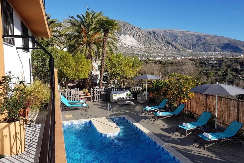 Vakantiehuis Spanje, Andalusië, Durcal Vakantiehuis El Valle, casa El Olivo