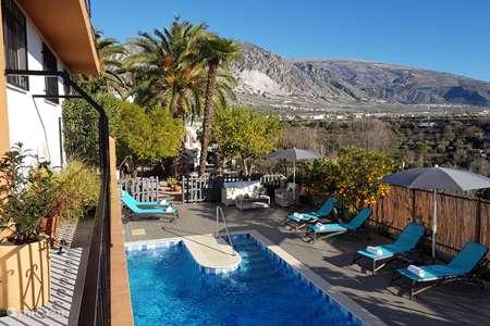 Vakantiehuis Spanje, Andalusië, Durcal vakantiehuis El Valle, casa El Pino Azul