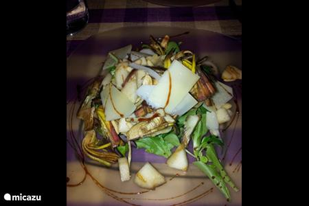 • Italiaans eten hmmmmm zo lekker