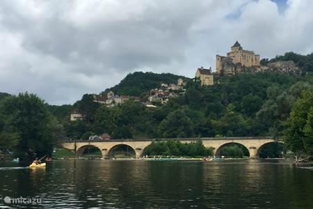 Kanoën op de rivier de Dordogne