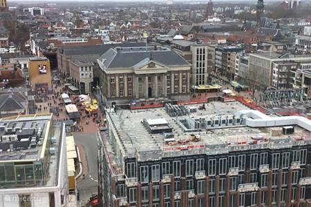Groningen, uitzicht vanaf het Forum