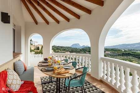 Vakantiehuis Spanje, Costa Blanca, Dénia villa Casa la Sorpresa