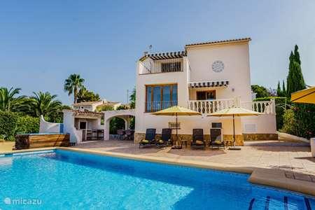 Vakantiehuis Spanje, Costa Blanca, Benissa - villa Villa Vigori