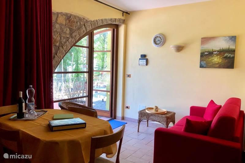 Vakantiehuis Italië, Umbrië, Tuoro sul Trasimeno Appartement Woning Michelangelo Villa Pellegrino