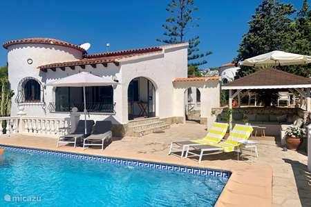Vakantiehuis Spanje – villa Casa el Rico, nabij Calpe en Moraira