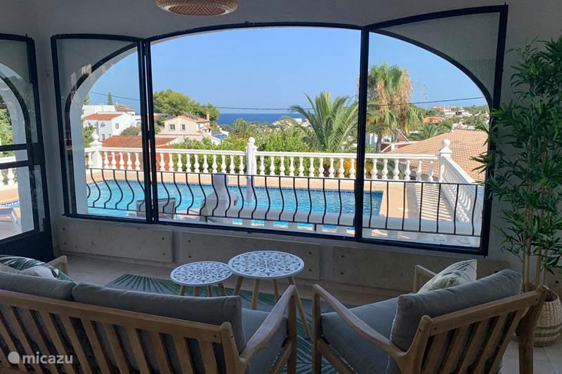 Vakantiehuis Spanje, Costa Blanca, Benissa Villa Casa el Rico, nabij Calpe en Moraira
