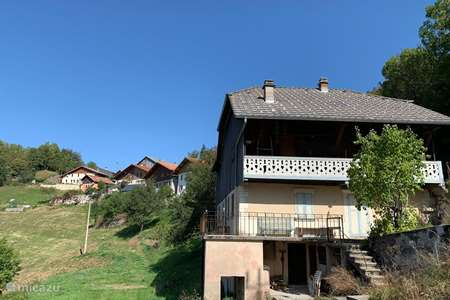 Vacation rental France, Haute Savoie, La Forclaz farmhouse Maison a Belmont