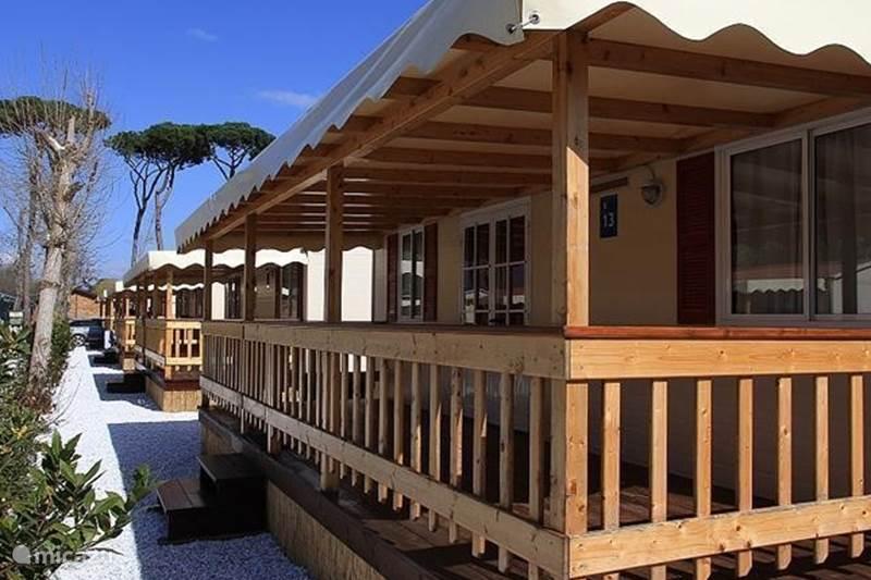 Vakantiehuis Italië, Toscane, Viareggio Stacaravan Toscane | Camping aan Zee | Chalet