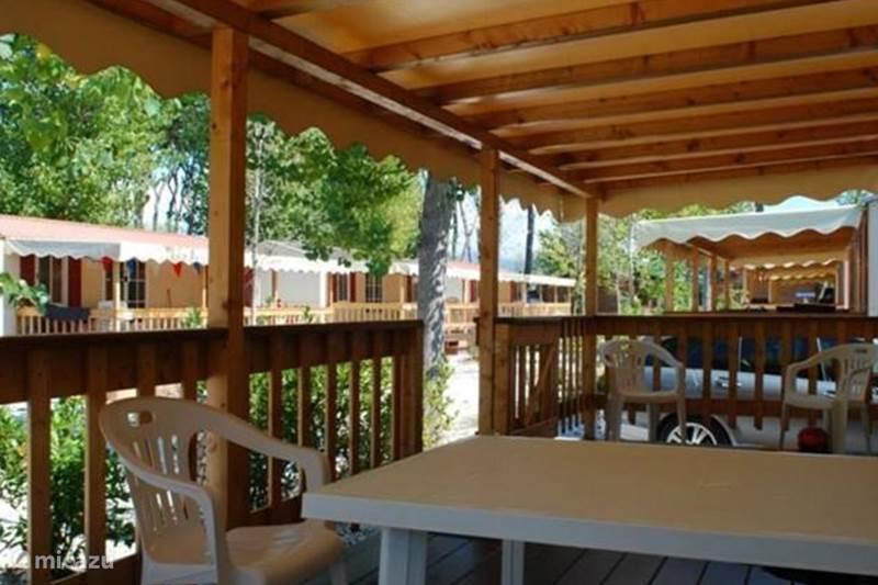 Vakantiehuis Italië, Toscane, Viareggio Stacaravan  Mobile Home bij Zee Toscane Italië!