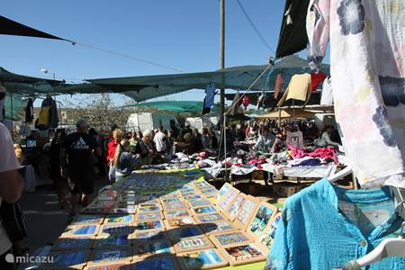 bezoek een zigeunermarkt