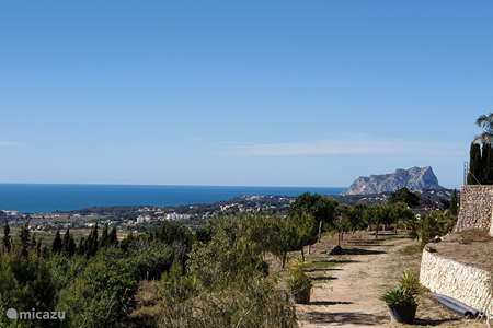 Vakantiehuis Spanje, Costa Blanca, Benitachell appartement Zeezicht Moraira Appartment 2