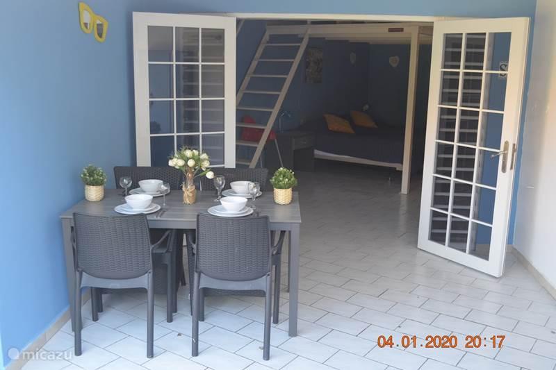 Vacation rental Curaçao, Banda Ariba (East), Seru Coral Studio Seru Coral Studio Tiki Bar
