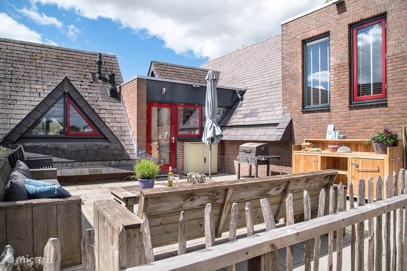 Vakantiehuis Nederland, Friesland, Rijs Villa Bosvilla De Steenbok