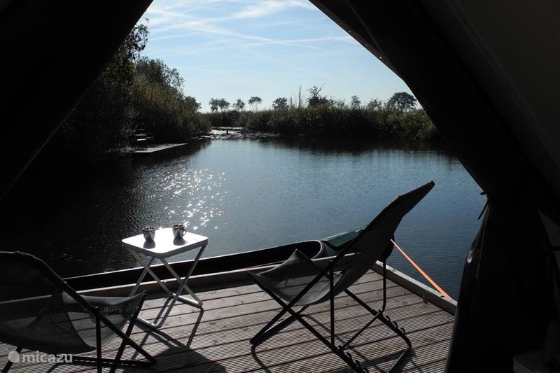 Vakantiehuis Nederland, Noord-Holland, Weesp Blokhut / Lodge Lodge Fort Uitermeer