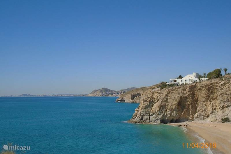 Vakantiehuis Spanje, Costa Blanca, Villajoyosa Appartement Appartement op strand van Paradis