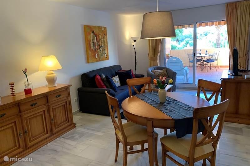 Vakantiehuis Spanje, Costa del Sol, Marbella Appartement Tulipanes is mooi/goed/betaalbaar