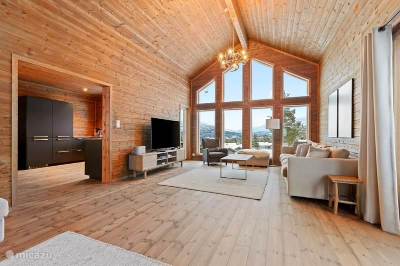 Vakantiehuis Noorwegen, Telemark, Vradal Vakantiehuis Luxe vakantiehuis in Vrådal