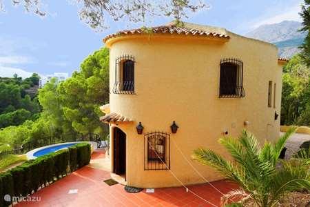 Vakantiehuis Spanje, Costa Blanca, Altea la Vieja villa Casa Kirbo