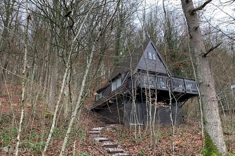 Ferienwohnung Belgien, Ardennen, Durbuy Bungalow Durbuy Waldhaus