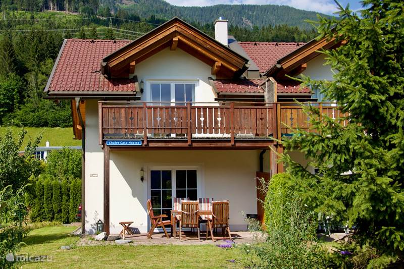 Vacation rental Austria, Carinthia, Kötschach-Mauthen Holiday house Chalet Casa Nostra