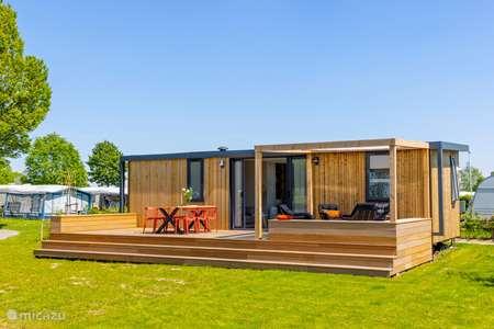 Vakantiehuis Nederland, Gelderland, Enspijk chalet Lodge aan het (vis)water (6p)