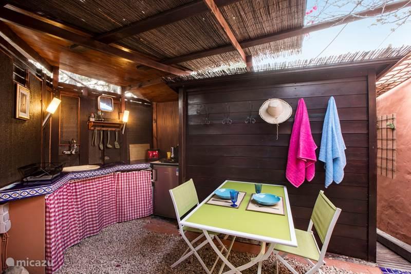 Vakantiehuis Spanje, Formentera, Es Pujols Bungalow Romantische Bungalow