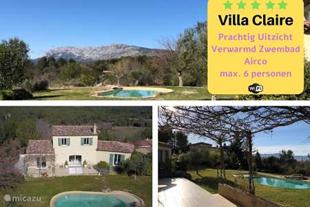 Vakantiehuis Frankrijk, Var, Pourrières villa Villa Claire Provence *****