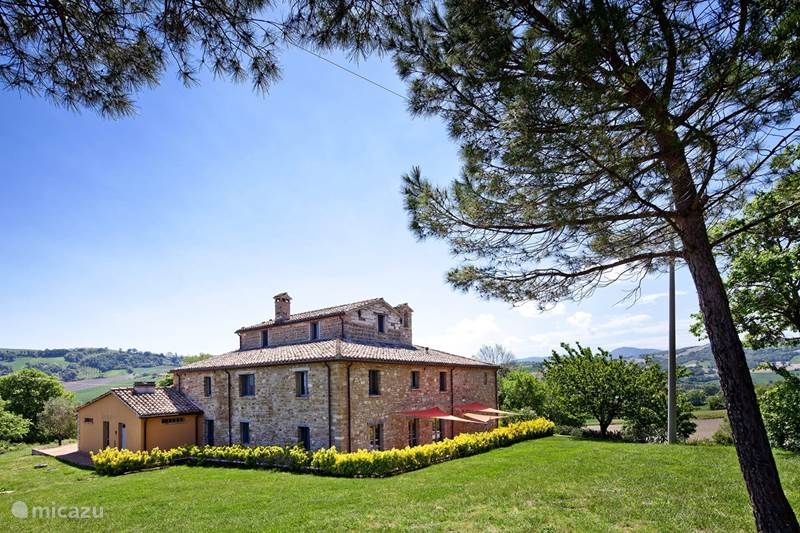 Vakantiehuis Italië, Marche, Pergola Appartement Appartement Annesso - Casale Eline