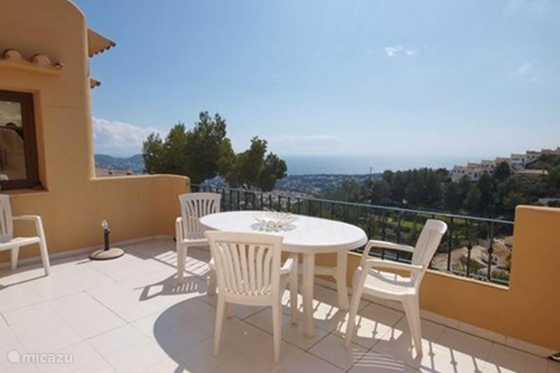 Vacation rental Spain, Costa Blanca, Moraira Terraced House Casa Dumarcaña