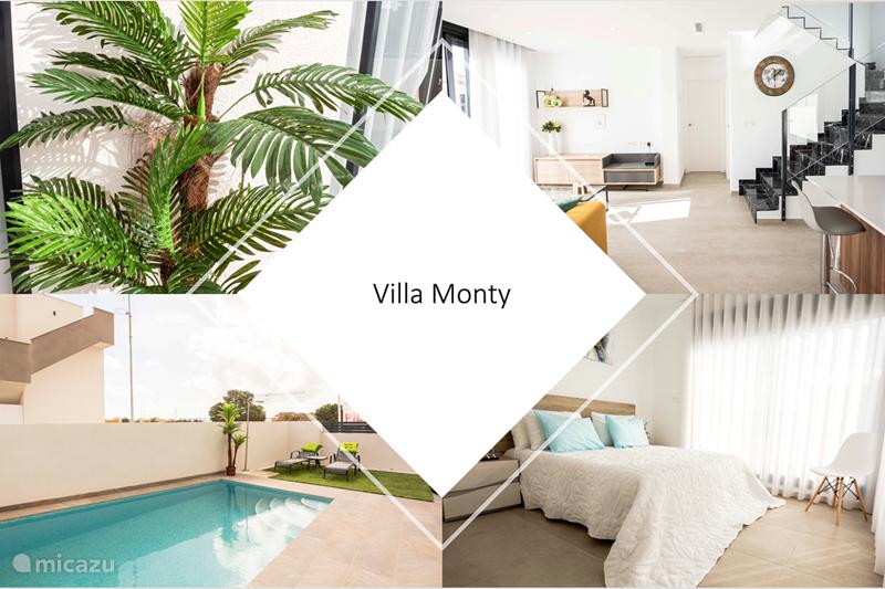 Vakantiehuis Spanje, Costa Blanca, Los Montesinos Appartement Villa Monty