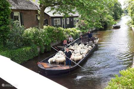 Vacation rental Netherlands, Overijssel, Giethoorn holiday house Farmhouse Lodge Giethoorn