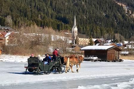 Weissensee paard en wagen