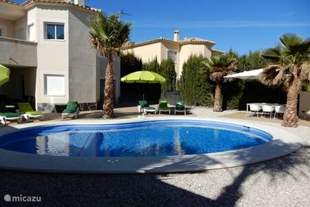 Vacation rental Spain, Costa Blanca, Aigües villa Campos Rojos
